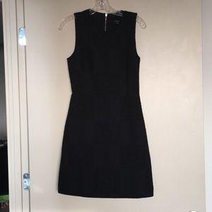 Madewell Black Mini Dress.